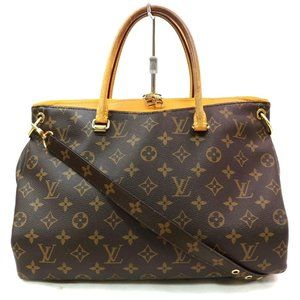 Auth Louis Vuitton Pallas Tote Bag #3970L78